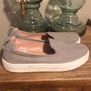 Topshop Grey Slide on sneakers